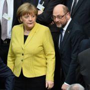 Merkel wieder beliebter! Harte Vorwürfe gegen Schulz (Foto)