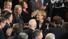 Merkel Kongress  (Foto)