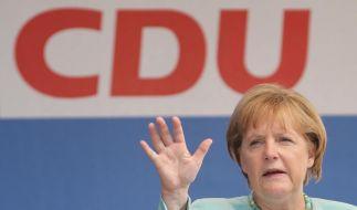 Merkel kritisiert fehlende Koalitionsaussage von Sellering (Foto)