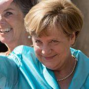 Merkel peilt offenbar vierte Amtszeit an (Foto)