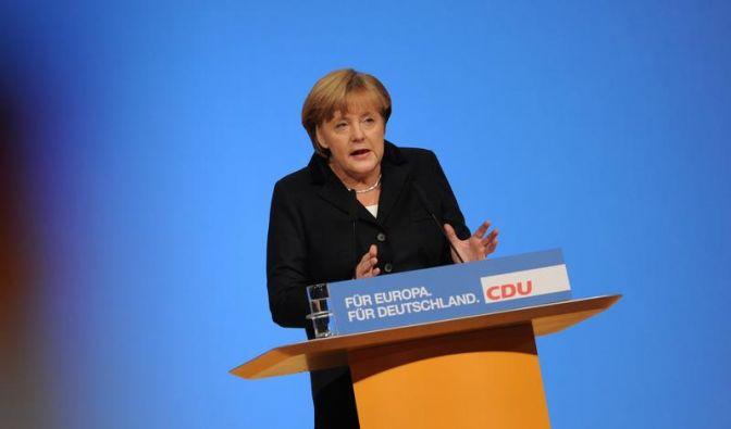 Merkel ruft Deutschland zu Reformbereitschaft auf (Foto)