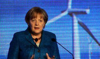 Merkel startet ersten deutschen Ostsee-Windpark (Foto)