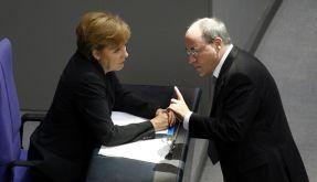 Merkel und Gysi (Foto)