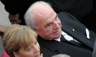 Merkel und Kohl (Foto)