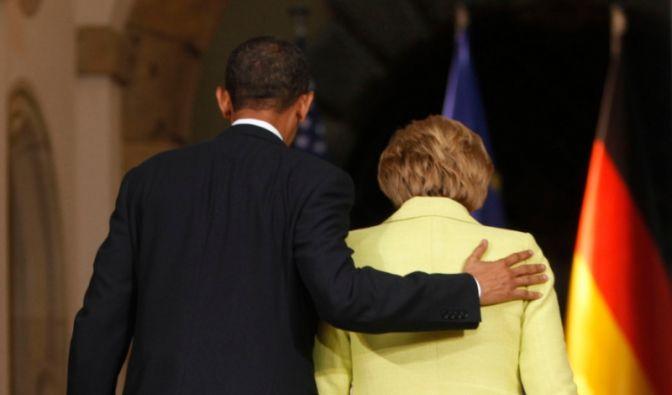 Merkel und Obama (Foto)
