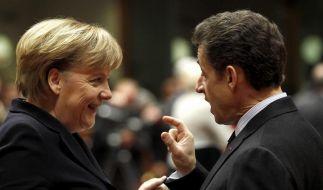 Merkel und Sarkozy werben für Wettbewerbspakt (Foto)