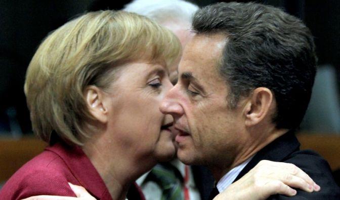 Merkel und Sarkozy (Foto)