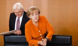 Merkel und Steinmeier (Foto)