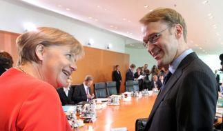 Merkel und Weidmann (Foto)