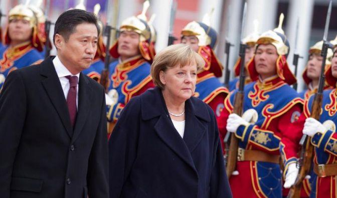 Merkel vereinbart Kooperation mit Mongolei (Foto)
