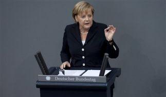 Merkel wehrt sich gegen Vorwurf des Versagens. (Foto)
