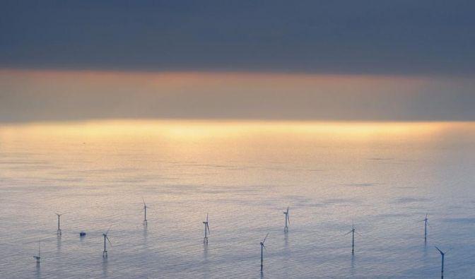 Merkel will Ausbau der Offshore-Windenergie (Foto)