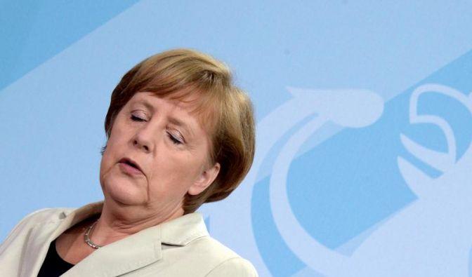 Merkel will bei G20-Gipfel hart bleiben (Foto)