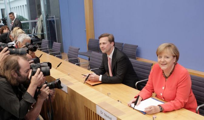 Merkel will Euro-Krise als Chance nutzen (Foto)