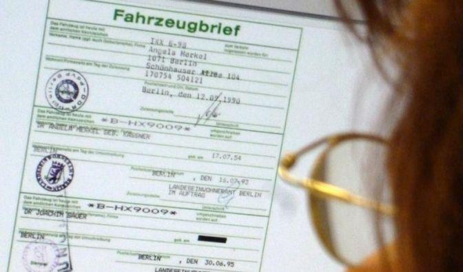 Merkels Auto bei Ebay: 10 000 Euro Höchstgebot (Foto)