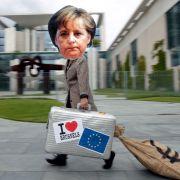 Merkels Europolitik und der Rettungsschirm sind der «Wahlalternative 2013» ein Dorn im Auge.