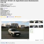 Das Höchstgebot des Autos liegt derzeit bei 10.000 Euro.