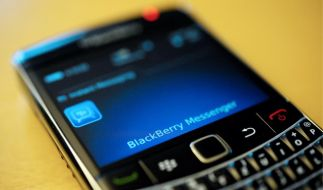 Messenger des BlackBerry (Foto)