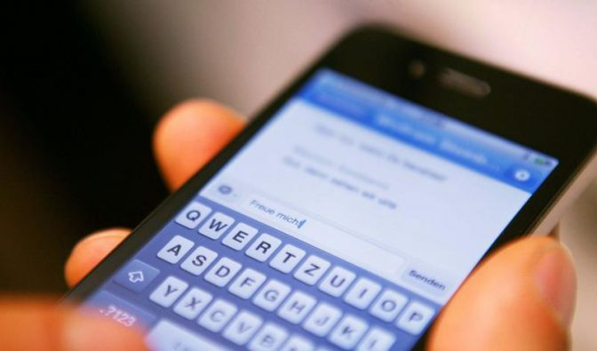 Messenger-Programme attackieren SMS (Foto)