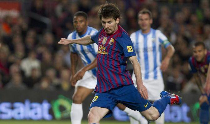 Messi knackt Gerd Müllers Torrekord (Foto)