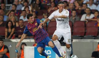 Messi und Özil (Foto)