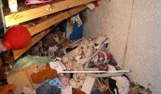 Messie-Frau liegt vier Monate im Müll (Foto)