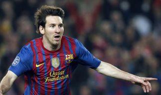 Messis nächster Rekord: 14 CL-Tore in einer Saison (Foto)