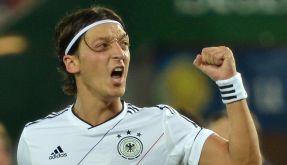 Mesut Özil traf zum 2:0-Zwischenstand. (Foto)
