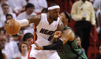 Miami eröffnet NBA-Halbfinale mit Sieg gegen Boston (Foto)