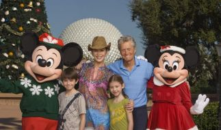 Michael Douglas hat Spaß in Disney World (Foto)