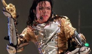 Michael Jackson, 1997 im Gelsenkirchener Parkstadion. (Foto)
