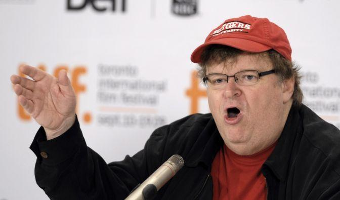 Michael Moore legt Autobiografie vor (Foto)