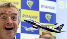 Michael O'Leary, Chef der irischen Billig-Airline Ryanair: Aus Kostengründen Passagiere in Gefahr gebracht? (Foto)