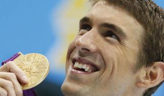 Michael Phelps hat mit 22 olympischen Medaillen einen Rekord hingelegt. Jetzt will er sich ein Privatleben zulegen. (Foto)