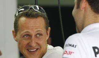 Michael Schumacher startet beim Großen Preis von Malaysia vom dritten Platz. (Foto)