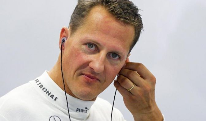 """Michael Schumacher ist in die """"Hall of Fame des deutschen Sports"""" aufgenommen worden. (Foto)"""