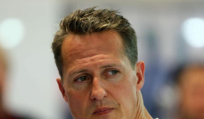 Michael Schumacher hat eine eigene Hymne: Born to fight. (Foto)