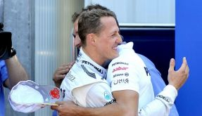Michael Schumacher darf sich freuen: In Monaco fuhr er die schnellste Runde. (Foto)