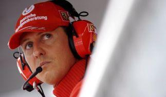 Michael Schumacher ist siebenfacher Weltmeister in der Formel 1. (Foto)