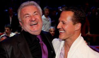 Michael Schumacher und Willi Weber waren jahrelang ein erfolgreiches Gespann. (Foto)