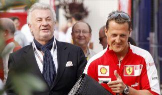 Michael Schumacher und Willi Weber waren einst ein erfolgreiches Gespann. (Foto)