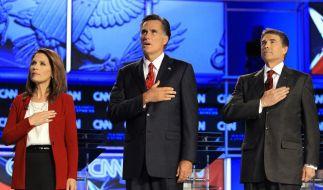 Michele Bachmann, Mitt Romney, Rick Perry (Foto)