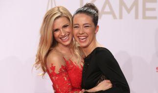 Michelle Hunziker und Aurora Ramazzotti freuen sich über Doppel-Nachwuchs. (Foto)