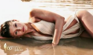 Michelle-Luise beim Bikini-Shooting (Foto)