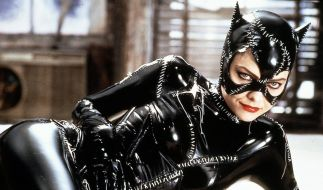 Michelle Pfeiffer gab 1992 in Batmans Rückkehr die verführerische Catwoman. (Foto)
