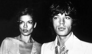 Mick und Bianca Jagger (Foto)