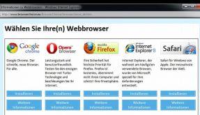 Microsoft erleichtert Browser-Wahl ab 17. März (Foto)