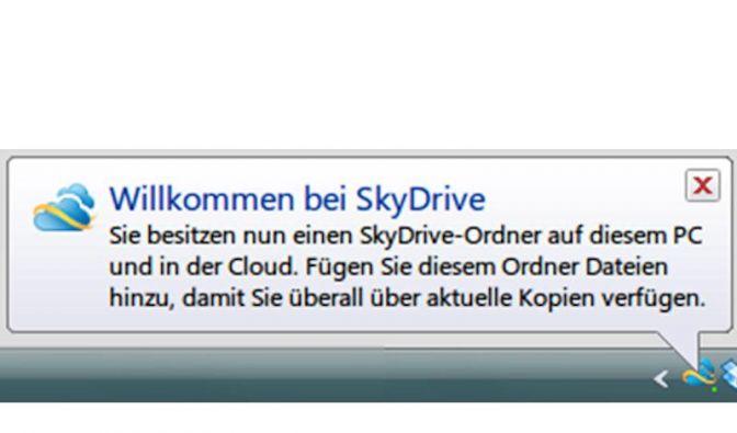 Microsoft will mit Skydrive Apple und Google ausstechen (Foto)