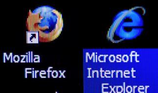 Microsofts Internet Explorer baut Marktführerschaft aus (Foto)