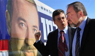 Mideast Israel Politics Lieberman (Foto)